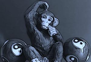 The Thinking Monkey